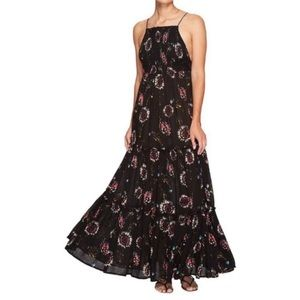 NWOT Free People Floral Garden Party Maxi Dress